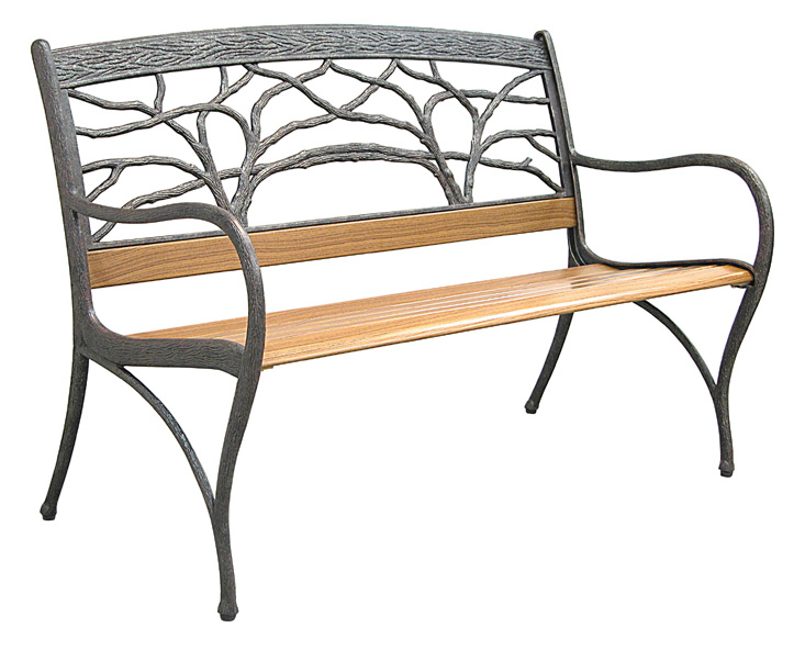 c609-71, tree bench, aged bronze.jpg